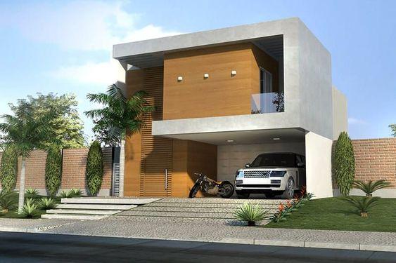 fachada con portico de madera (2)
