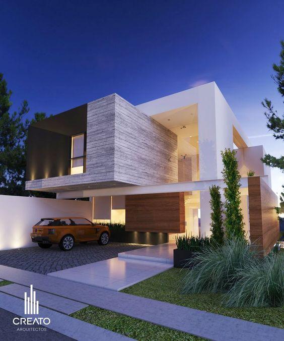 996 Best Archi Architecture Images On Pinterest: Fachadas Y Diseños De Casas 2017