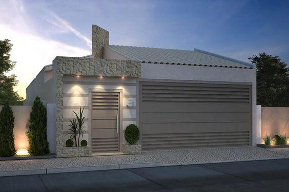 fachada de casa pequena con un suelo (2)