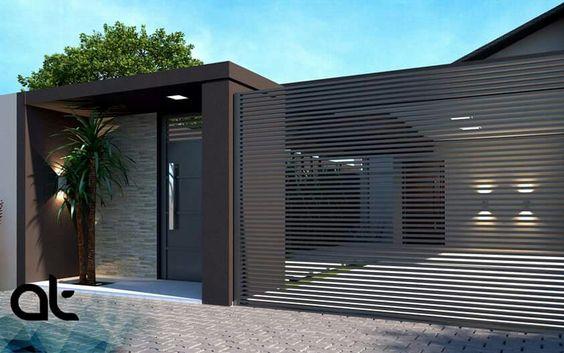 fachada de casa pequena con un suelo