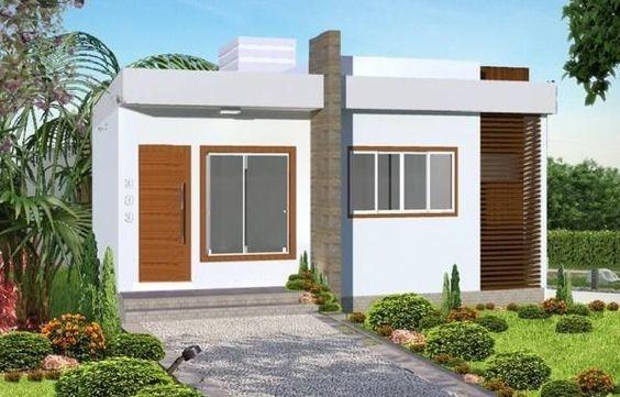 Fachada de casa pequena en piedra 3 decoracion de for Fachadas de piedra para casas pequenas