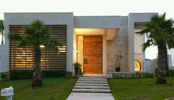 fachada de casas sencillas en columnas de piedra (4)