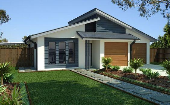 fachada gris con detalle en madera (2)