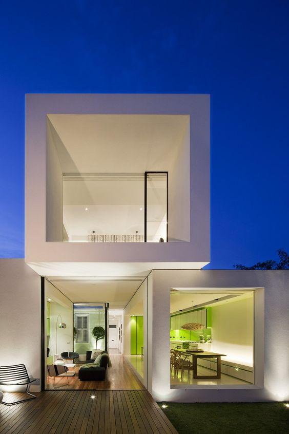 fachadas de casas con vidrio (2)