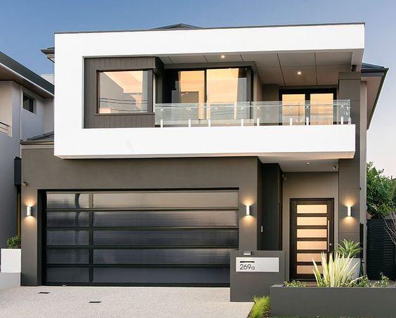 Fachadas de casas minimalistas 3 decoracion de for Colores para interiores casas minimalistas