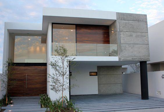 fachadas de casas pequenas en tonos terrosos (3)
