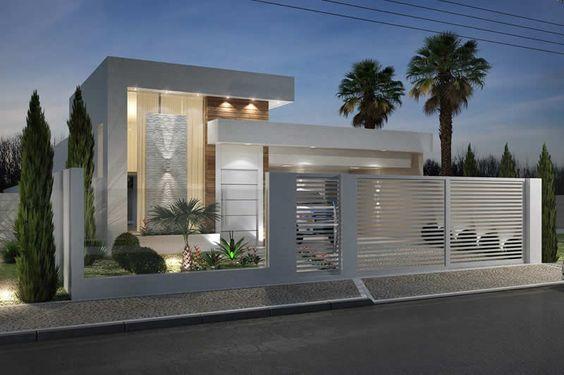Fachadas disenos casas 2017 21 decoracion de for Disenos de fachadas de casas pequenas modernas