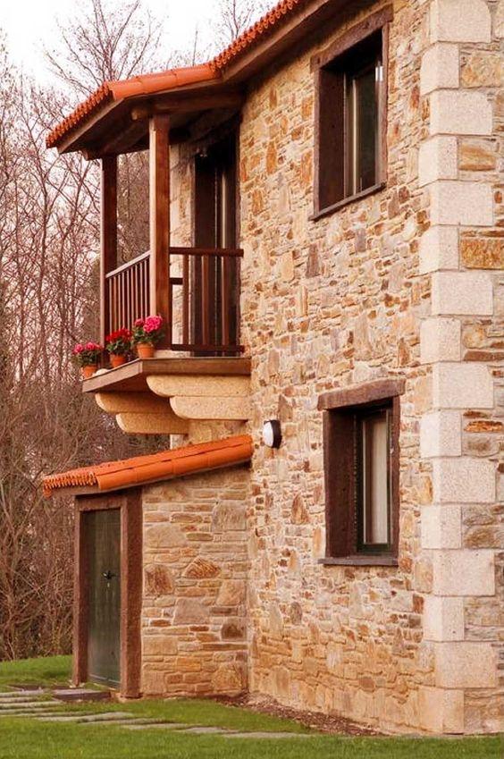 fachadas rusticas modernas