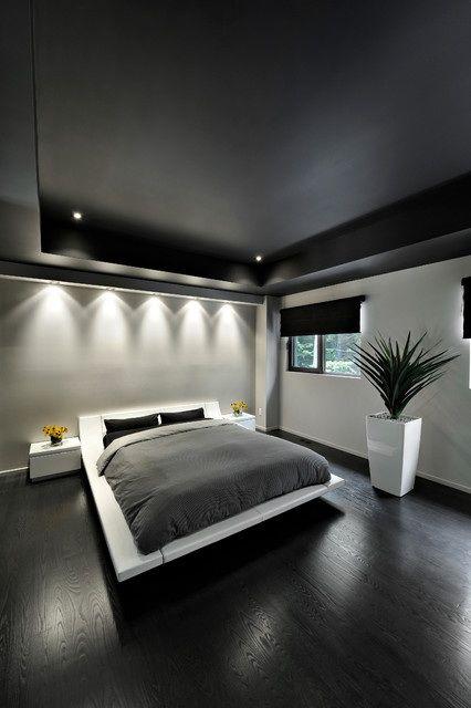 Habitaciones Decoradas Color Negro 15 Como Organizar