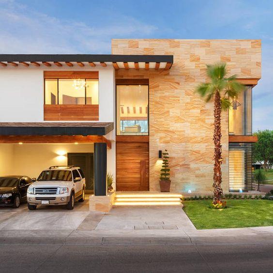 Ideas para disenar casas de esquina decoracion de for Ideas para fachadas de casas