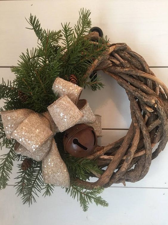 Ideas para una decoraci n navide a r stica decoracion de - Decoracion navidena rustica ...