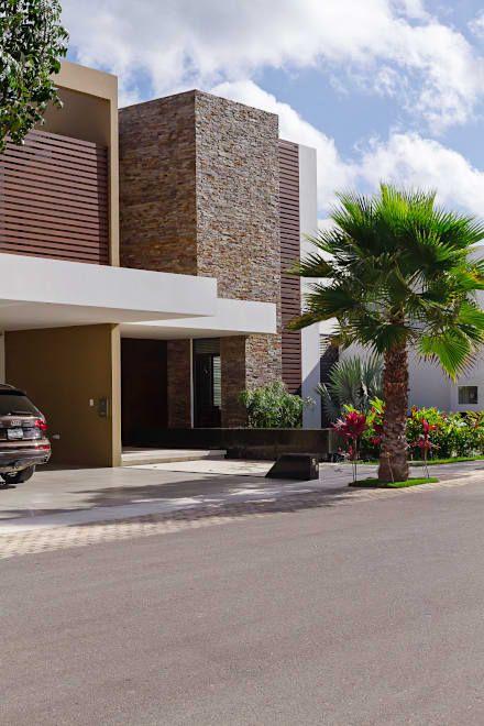 jardines para fachadas de casas (7)