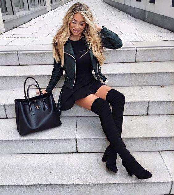 Vestidos invierno con botas