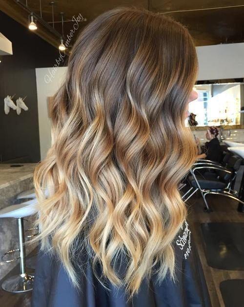 Los mejores estilos de mechas para el cabello 2017 - 2018