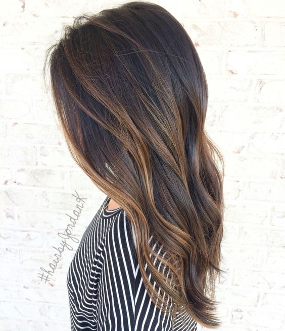 The best styles of hair strands 2017 - 2018