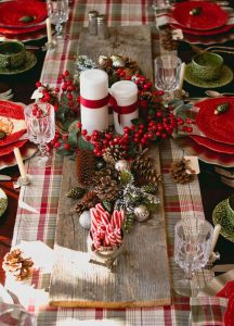 Mesas de navidad 2018 - 2019 decoradas