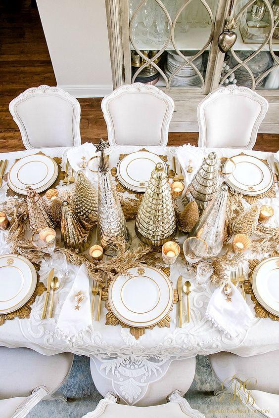 mesas de navidad elegantes (1)