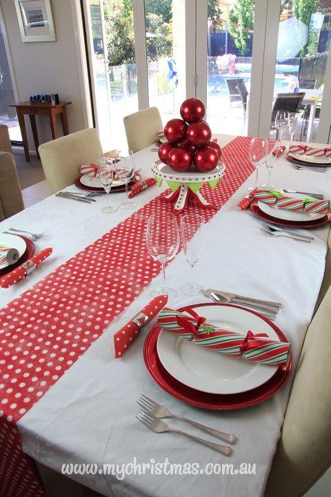 Mesas de navidad originales