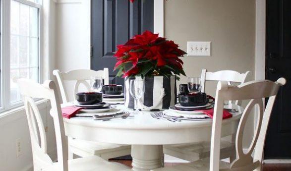 Ideas para decorar y organizar tu hogar - Mesas de navidad decoradas ...