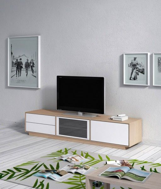 Muebles para televisi n for Muebles kibuc salones