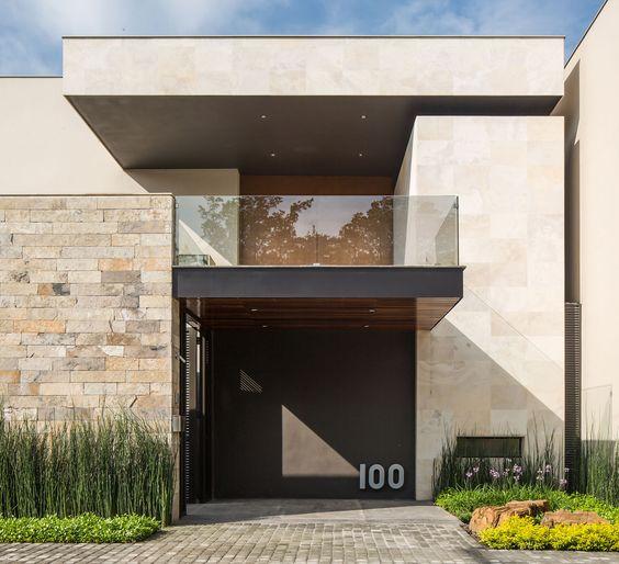 Muros de piedra para fachadas 2 decoracion de for Piedras para fachadas minimalistas