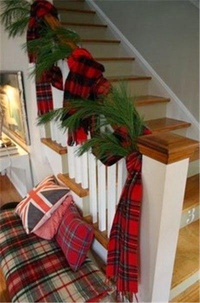 Decoración para el area de las escaleras