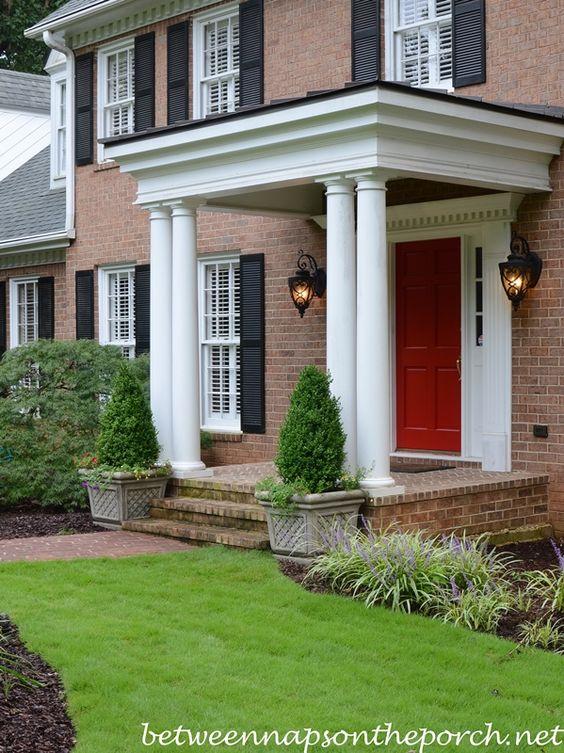 portico en color rojo (3)