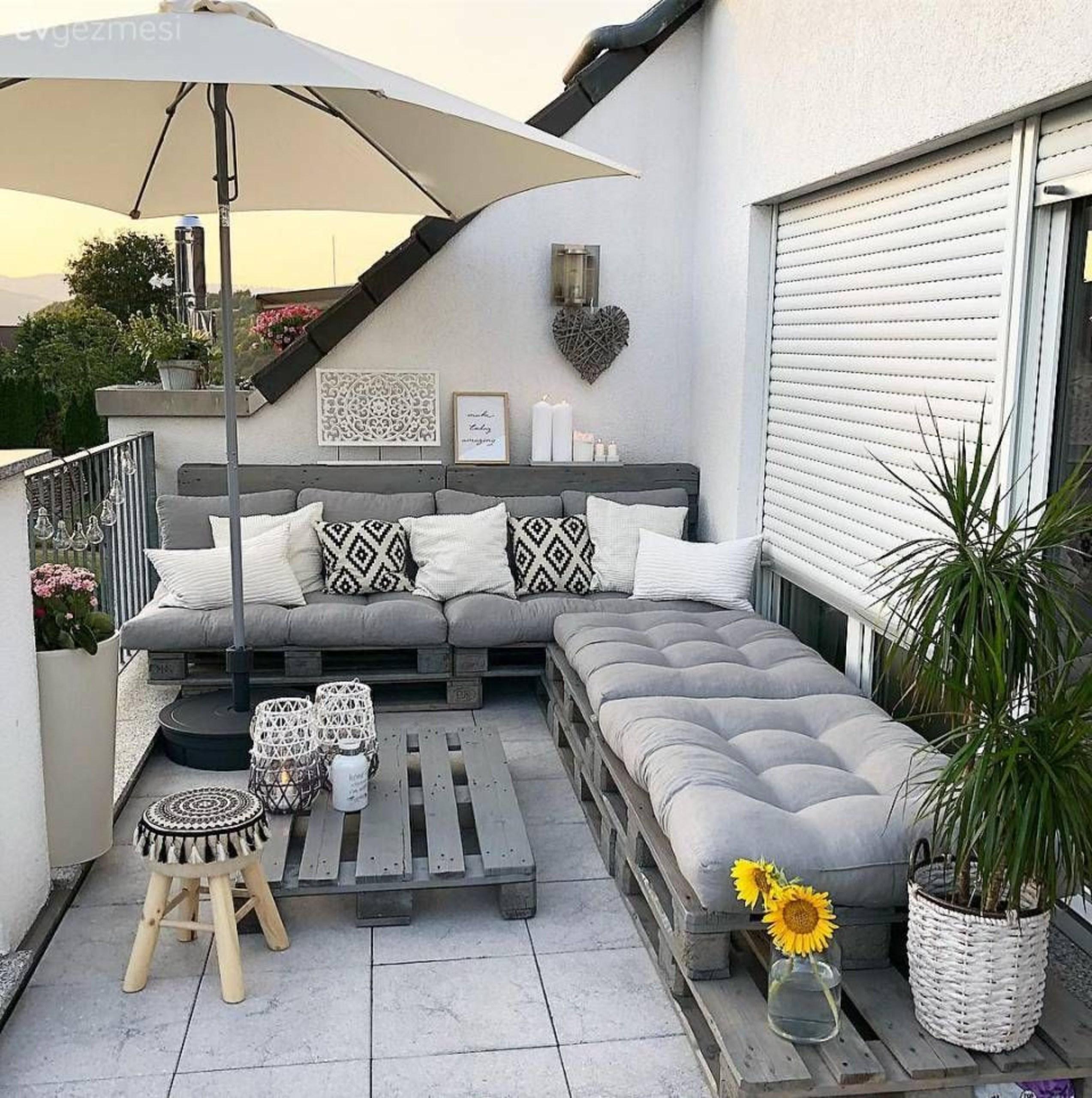 Proyectos Para Terrazas Con Palets Como Organizar La Casa
