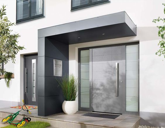 puertas de cristal para fachadas