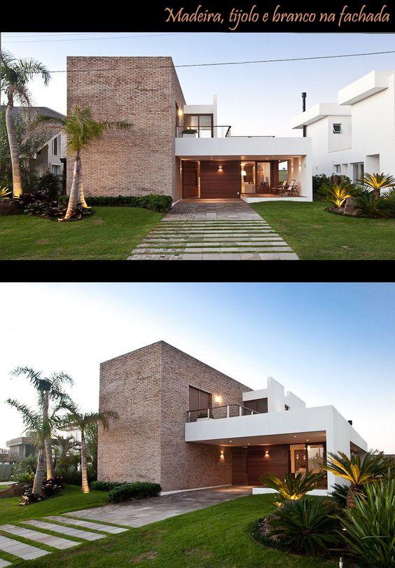 tijolo para fachadas de casas