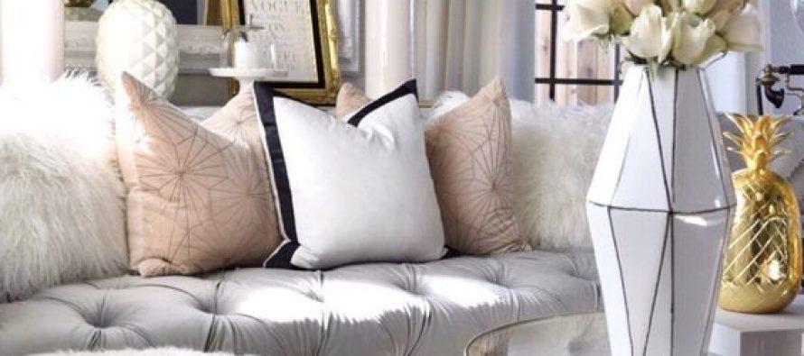Tips para conseguir una decoración glamurosa