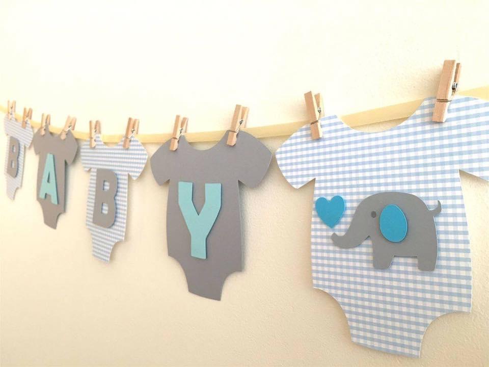 40 ideas que puedes intentar para decorar un baby shower de niño (1)