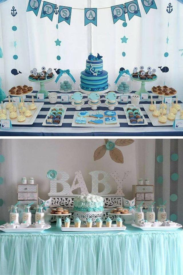 40 ideas que puedes intentar para decorar un baby shower for Decoracion casa shower