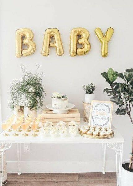 40 ideas que puedes intentar para decorar un baby shower de niño (2)