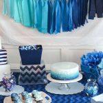 40 ideas que puedes intentar para decorar un baby shower de niño (24)