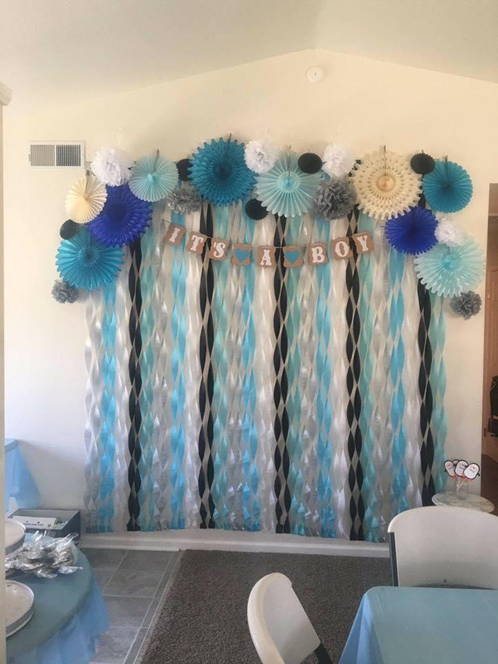 Mesa Principal Baby Shower.40 Ideas Que Puedes Intentar Para Decorar Un Baby Shower De Nino