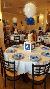 40 ideas que puedes intentar para decorar un baby shower de niño (26)