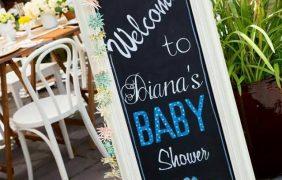 40 ideas que puedes intentar para decorar un baby shower de niño