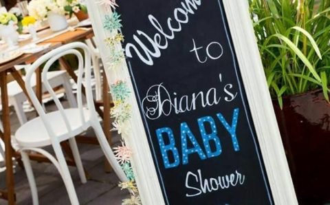 Ideas para decorar baby shower de niño