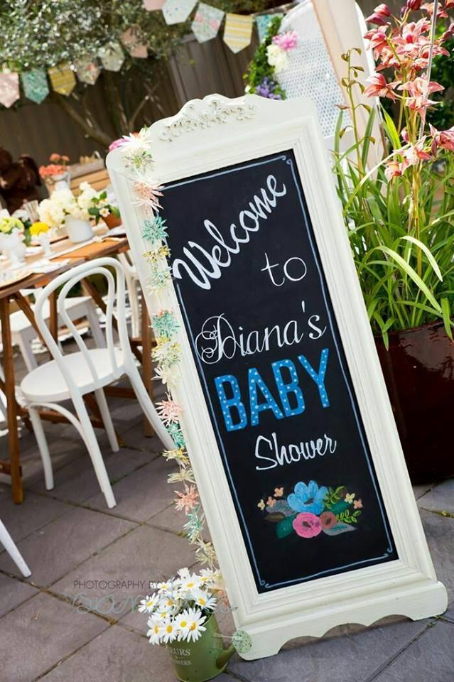40 ideas que puedes intentar para decorar un baby shower de niño (29)
