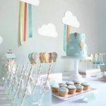 40 ideas que puedes intentar para decorar un baby shower de niño (30)