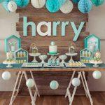 40 ideas que puedes intentar para decorar un baby shower de niño (31)