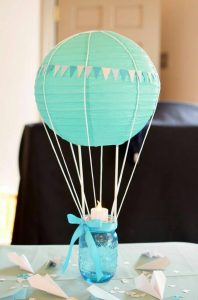 40 ideas que puedes intentar para decorar un baby shower de niño (40)