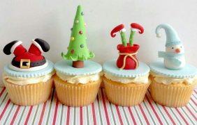 CupCakes para Navidad