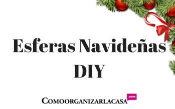 DIY Esfera Navideña Super Lindas Facil y Economicas
