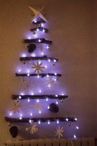 Ideas de decoración navideña 2017 - 2018 en morado (11)