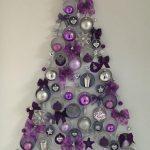 Ideas de decoracion navidena 2017 - 2018 en morado (17)
