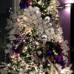 Ideas de decoracion navidena 2017 - 2018 en morado (18)