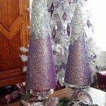 Ideas de decoracion navidena 2017 - 2018 en morado (19)