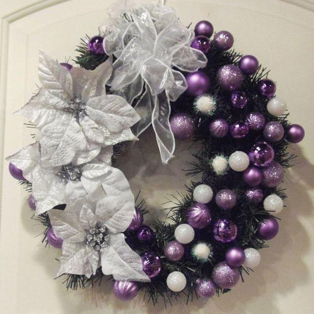 Ideas de decoraci n navide a 2017 2018 en morado - Ideas de decoracion navidena ...